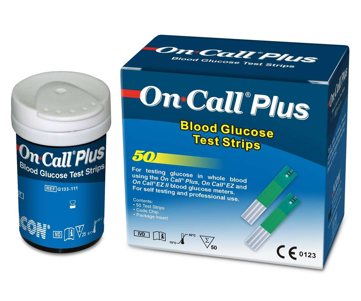 Easy Plus II Blood Glucose Test Strips - amazoncom